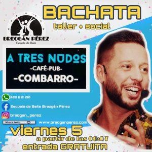 TALLER DE BACHATA A3NUDOS. VIERNES 5 DE JULIO