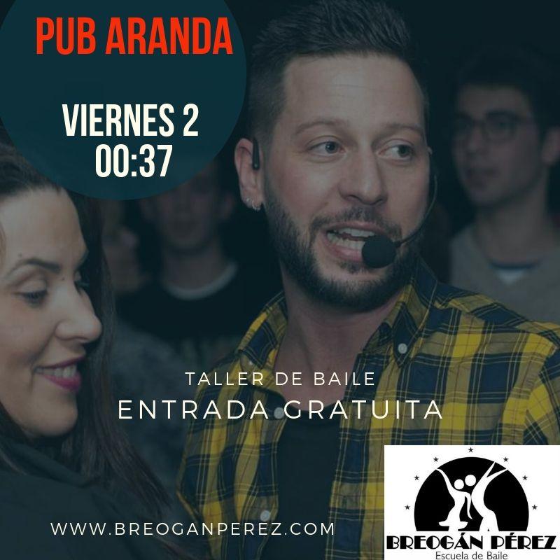 PUB ARANDA. TALLER DE BACHATA
