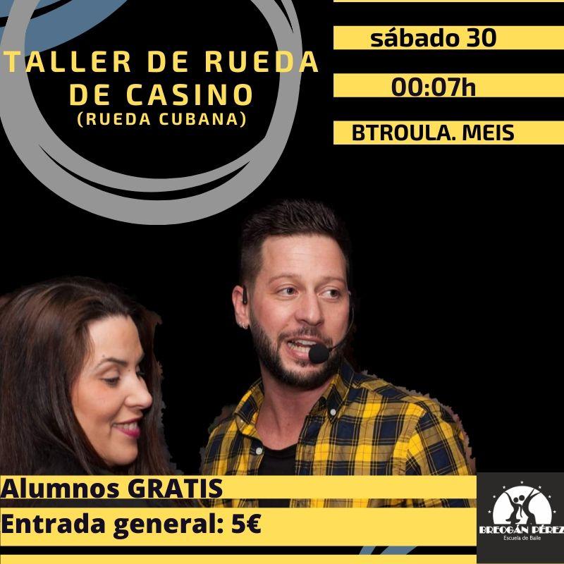 TALLER RUEDA DE CASINO