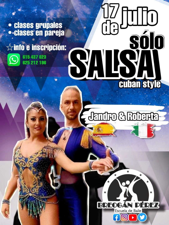 JANDRO & ROBERTA. TALLER DE SALSA CUBANA