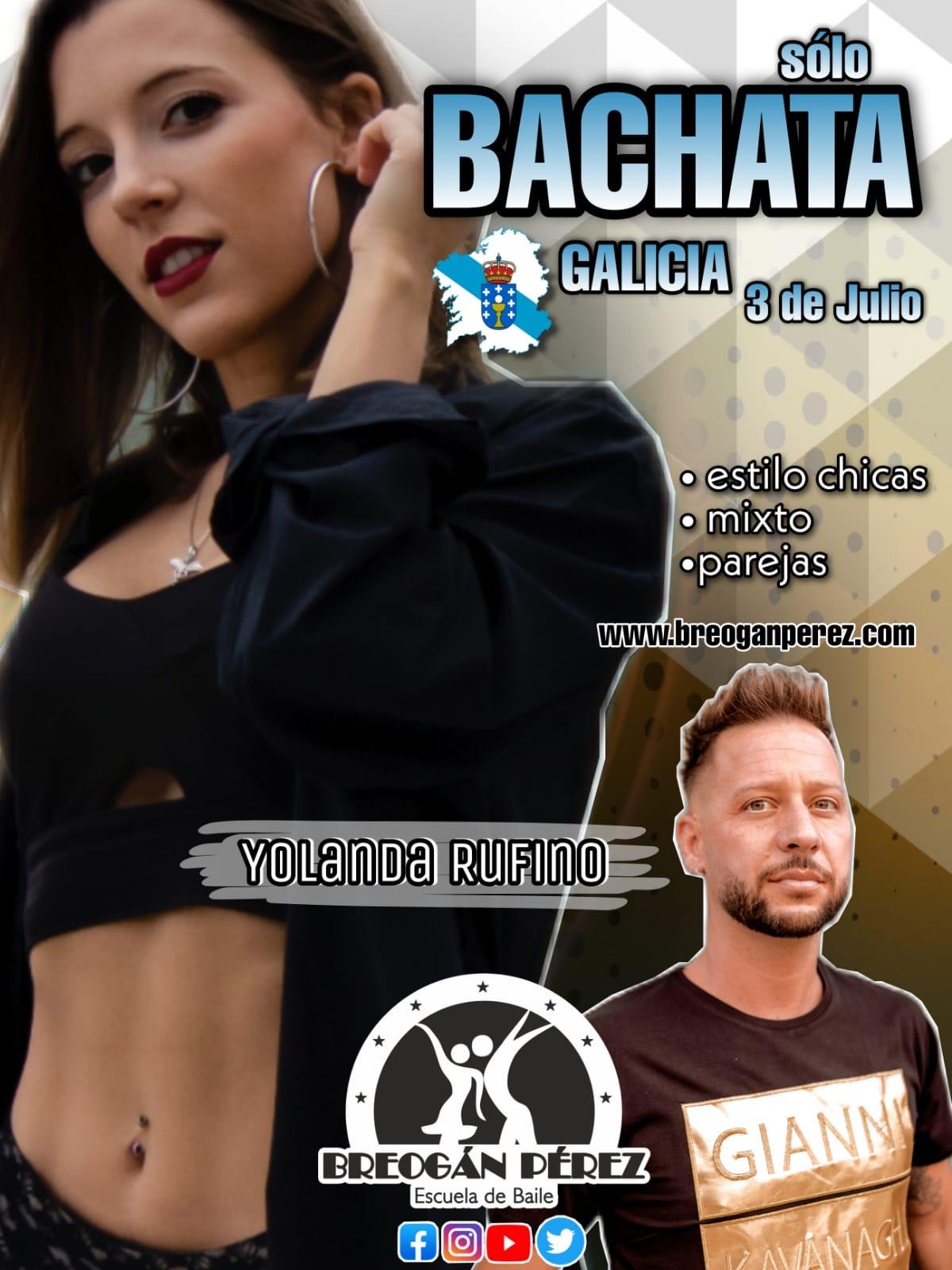 YOLANDA RUFINO. TALLER DE BACHATA