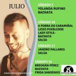 EVENTOS JULIO